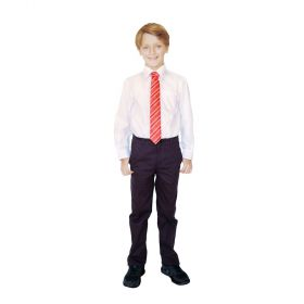 organic cotton classic school trousers